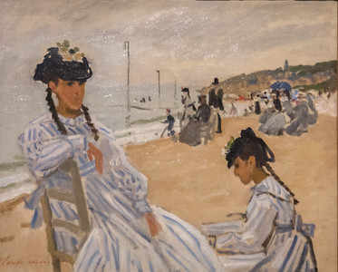 Monet on Display