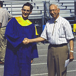 Jerry and Grandpa .... High school grad