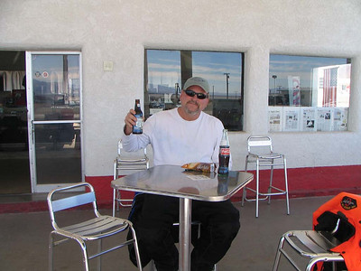 Amboy CA. 2009 Route 66 and no that is Rootbeer