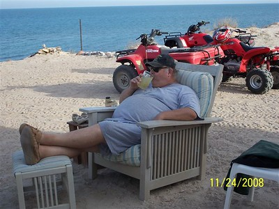 Big Dave in Baja