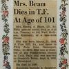 Emma Rile-Beam Obituary