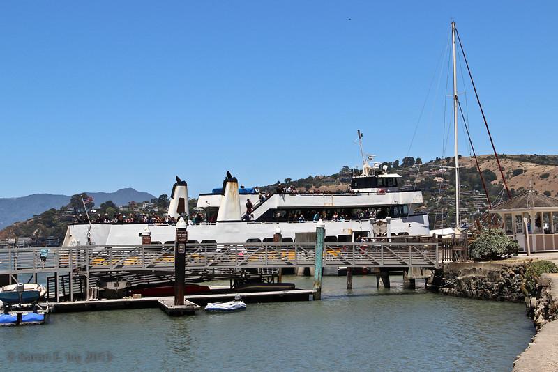 The San Francisco-Angel Island Ferry, Angel Island