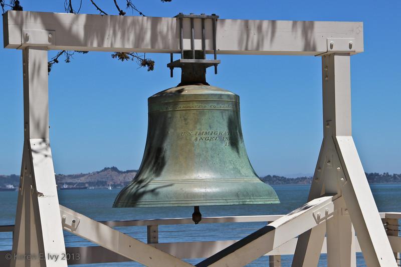 Angel Island's liberty bell