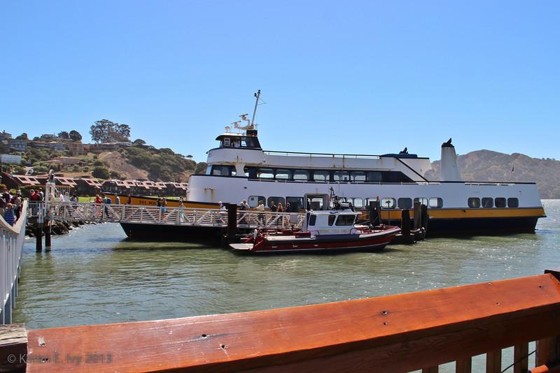 The San Francisco-Tiburon Ferry