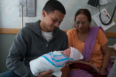 Vrajesh-mama with Rishi