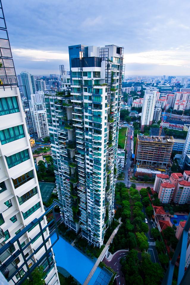 Our Condo in Singapore (Rivergate) dawn