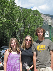 Natalie, Paris and Drew in Crested Butte CO.
