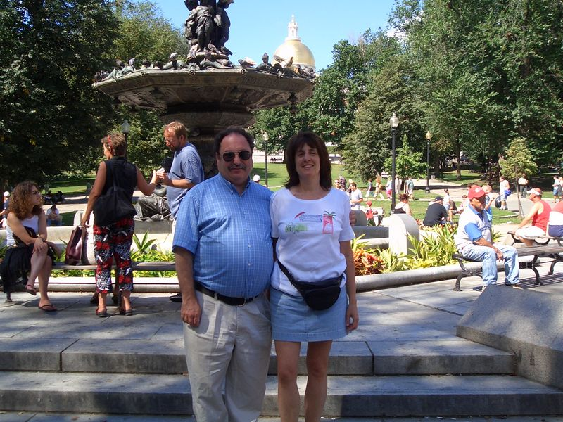 Lee & me at Boston Commons