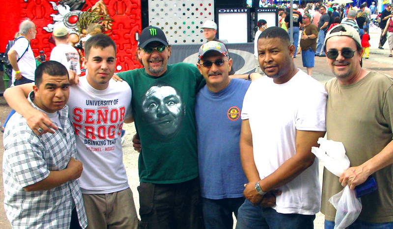 Baytown 2008 Hector, Corey, Pokey, Kenny, Quentin.