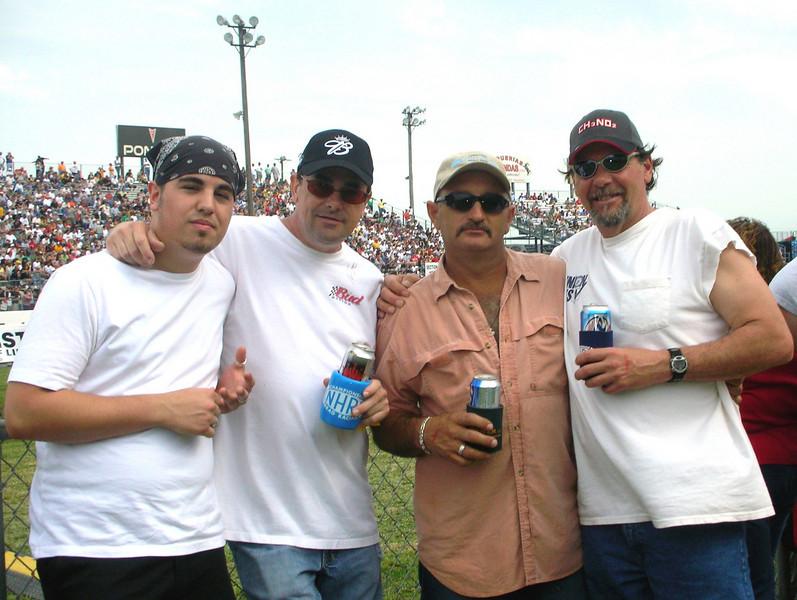 Corey, Jamie, Kenny, Pokey 2007