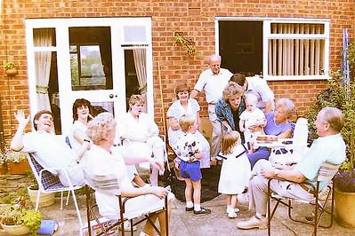 Roberts christening 1987
