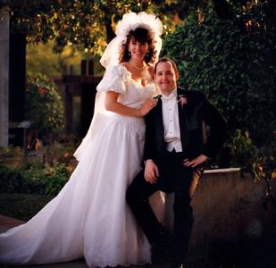 Wedding  - Robin & Jim Felton 1992