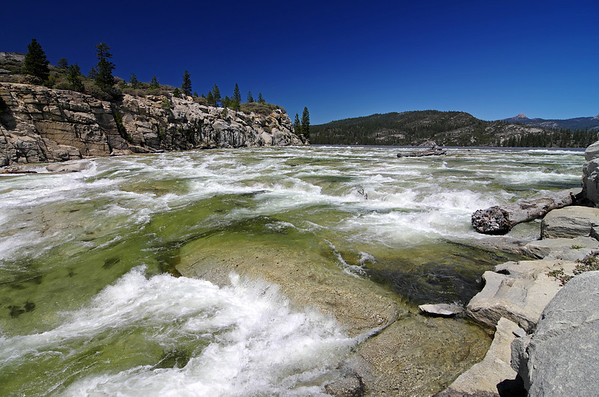 Rock Creek & Mammoth Pools Reservoir, 4/21/2012