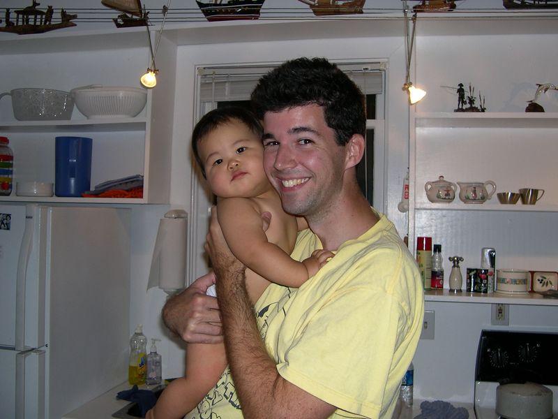 Jonathan and his Uncle Jim.