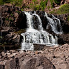 Gooseberry Lower Falls, first stop on our Minnesota North Shore advenure