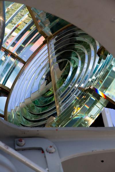 French made Fresnel lens in Split Rock Lighthouse