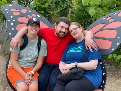 Friends and family at the Zoo