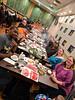 The whole crew (Hot Pot dinner for Michael's birthday at Little Dipper Shabu-Shabu in Dublin)