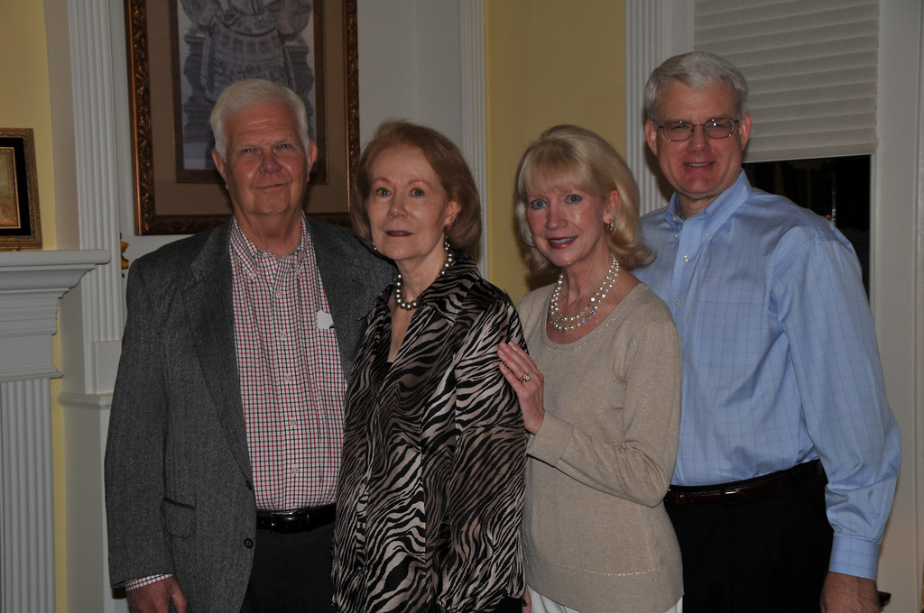 Don and Shirley Rose with Neil and Mary Ann Simpson (host and hostess)