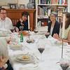 Left to right, Janice, Mel, John, Howard & Jane, Cheryl Kempler, Jeanette, Annette Lipton