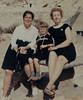 Margaret Dietrich, Rose Dietrich (Swinson), Patricia Fairbrother<br> taken in El Paso Texas, 1968/69