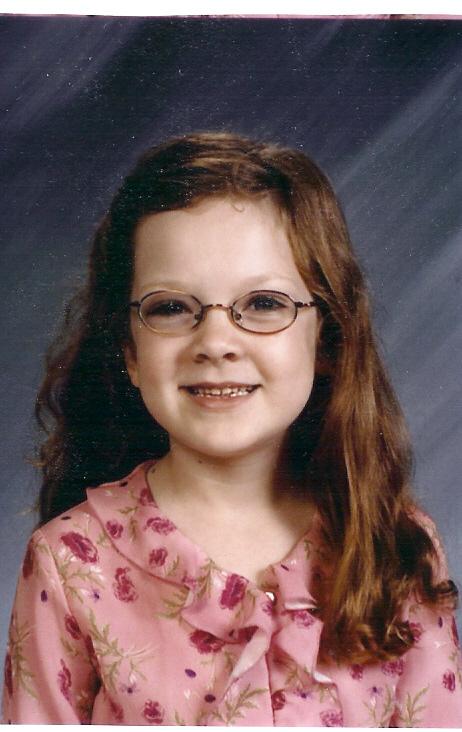 Rowan's 1st Grade school picture
