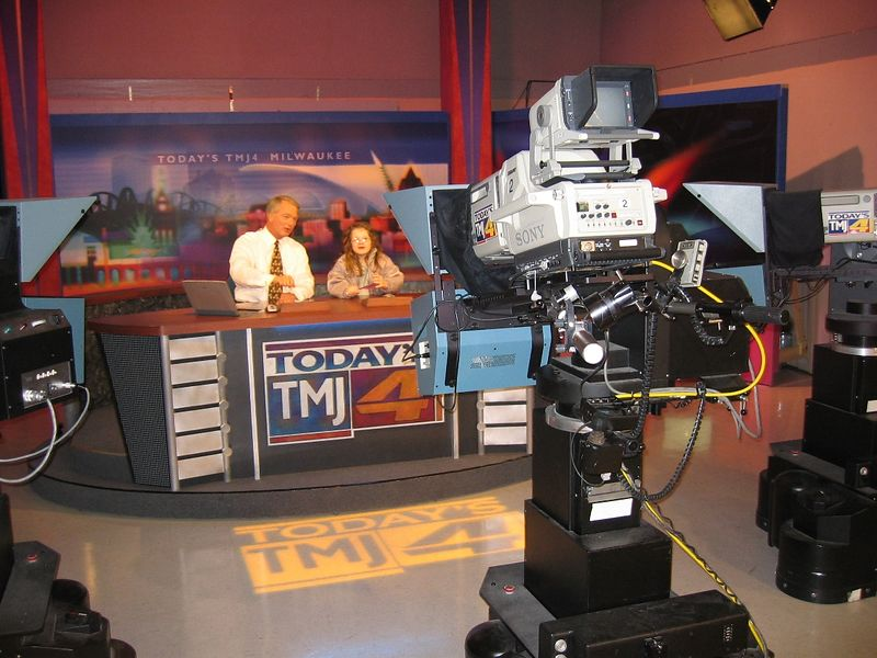 TMJ4 was the only Milwaukee TV station to cover STS-107 from the beginning.  They sent Mike to Florida for the launch, and to Texas to cover the memorial ceremonies.