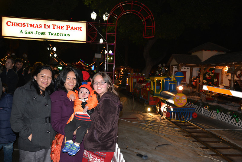 At Christmas in Park - San Jose