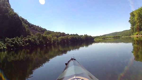 Delaware River Kayaking July 2015