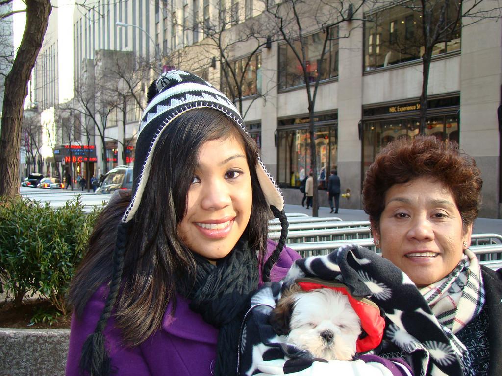 01/12/2010 Visiting the NBC Studios at Rockefeller Center.