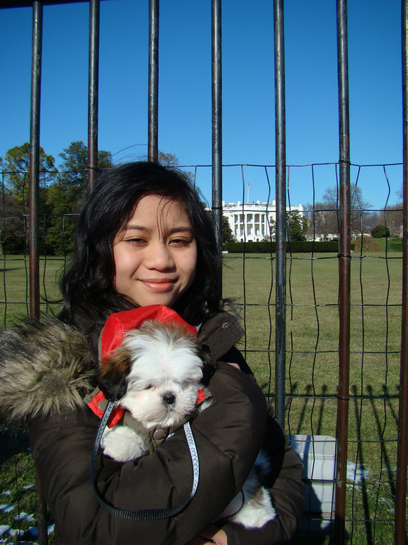 01/10/2010 I came here to talk to President Obama about Doggie Rights.