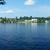 Mirror Lake facing downtown Lake Placid