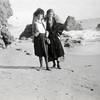 Ruby and friend, Santa Monica Beach, November 12, 1923