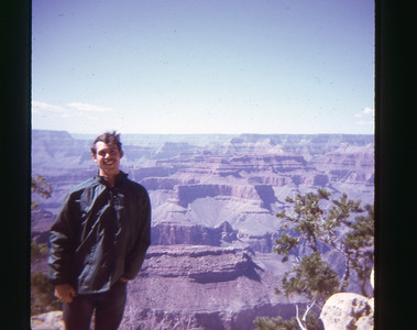 Dave Grand Canyon May 1973 slide 9 color transparency