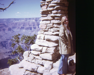 Chris Grand Canyon May 1973 slide 8 color transparency