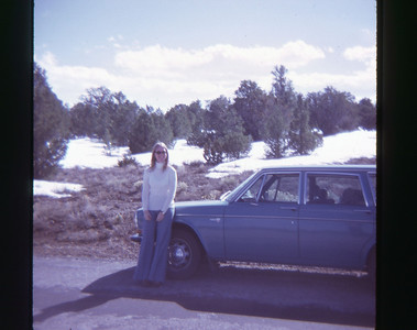Chris Grand Canyon May 1973 slide 16 color transparency