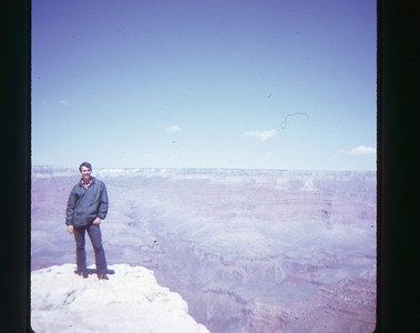 Dave Grand Canyon May 1973 slide 4 color transparency