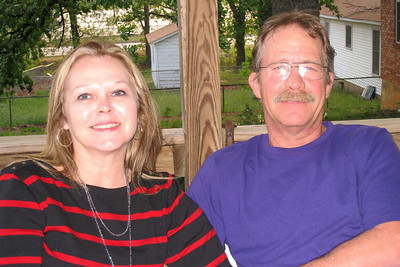 Grady and Mary Clare drove to Denison to visit with Bill and Myra in April - It's always a great excuse for dinner and a party! Newlyweds - Russ and Cheryl Bill and Myra: Russ, Cheryl, and Caroline; Michael, Kelly, Kasen and Summer; Kelley, Chuck and Kane; Robert; David; Kathy; Shorty and Cheryl Giacomazzi