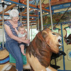 Hey G-Papa-K.  I'm riding a lion with Grandma Sarah.