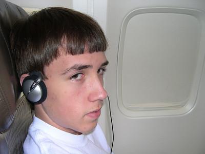 Ryan enjoys some tunes
