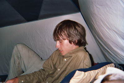 Ryan in the Tent