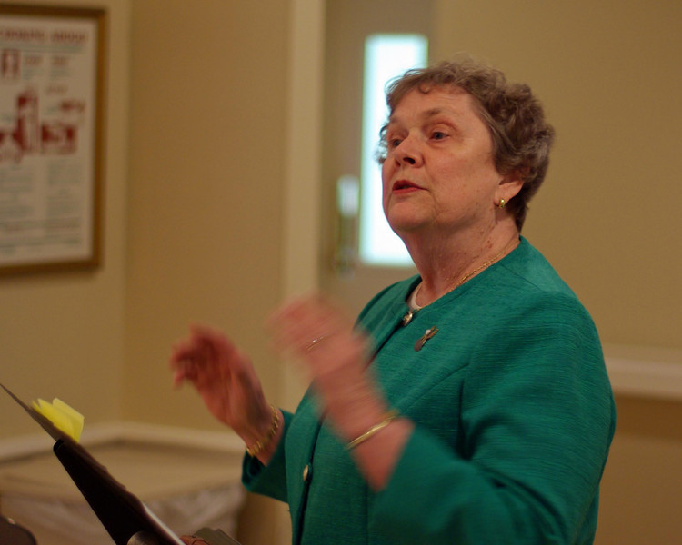Mrs. Joan Hunsicker, Teacher