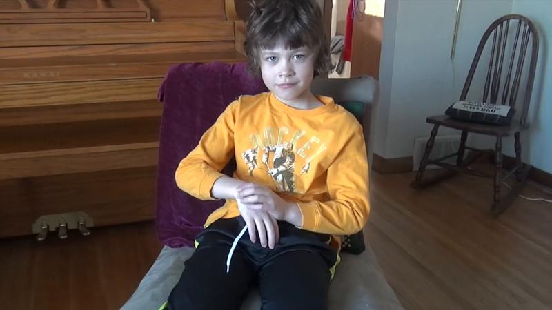 Ryan 8 year old interview, part 1