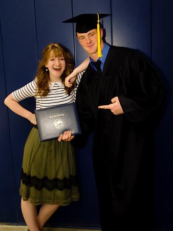 Ryan's BSU graduation 2014