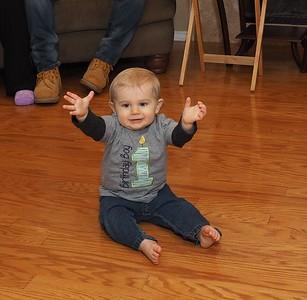 Ryan's First Birthday Party 12-5-15