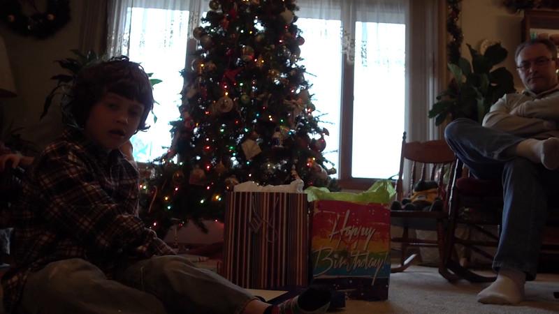 Ryan Ranch Birthday, opening presents, part 1