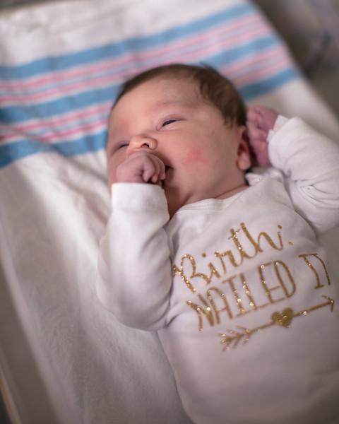 Rylan Mae 1 day old