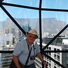 John on the top floor of Zeitz-MOCAA