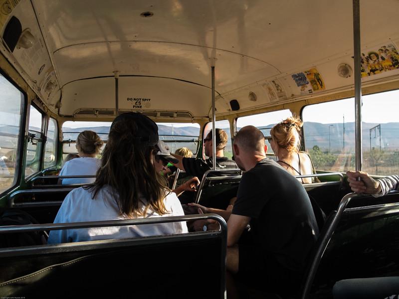 Bus tour of Matjiesfontein