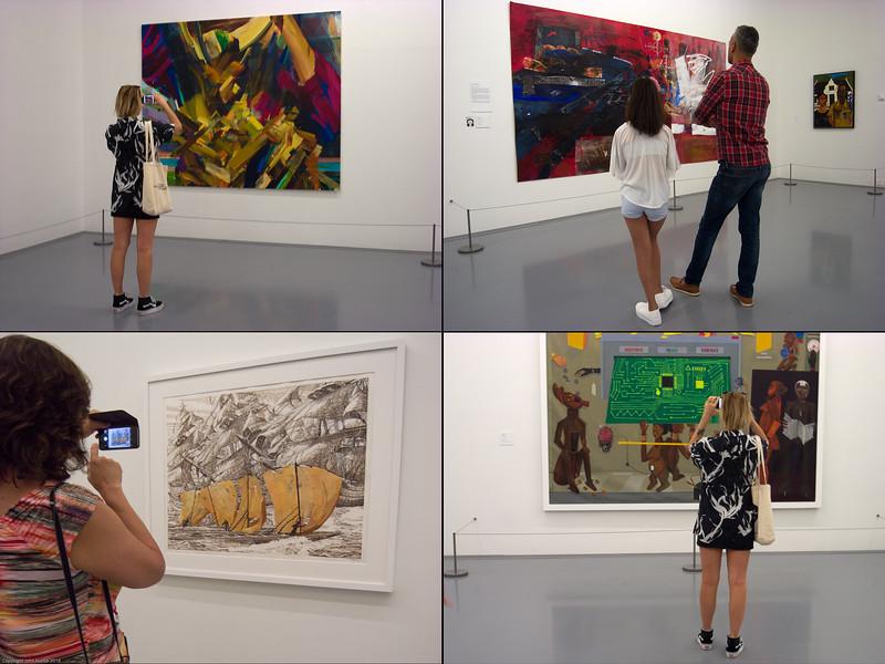In the Zeitz MOCAA galleries